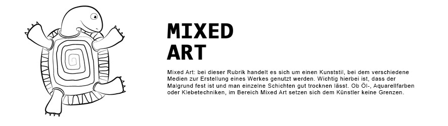Bilder in Mixed Art, Mischtechnik | Wanlenart.de